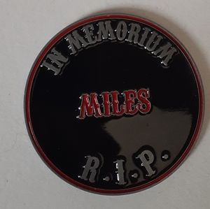 Sons of Anarchy Memoriam Coin
